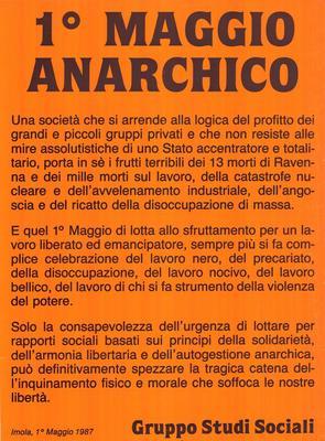1° Maggio anarchico, Gruppo Studi Sociali (Imola)