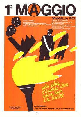 1° Maggio Senigallia 1985 / Gruppo Anarchico di Senigallia