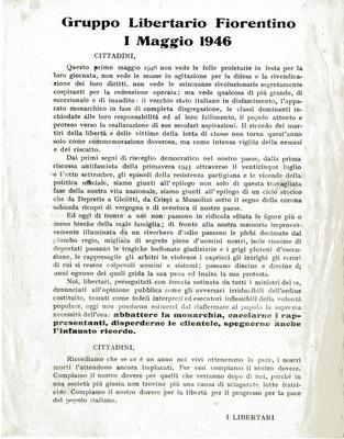 1° maggio 1946 : cittadini