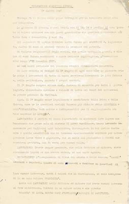 1° maggio 1958