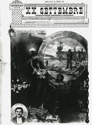 20. settembre : pubblicazione comunista-anarchica