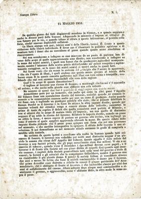 15 maggio 1851